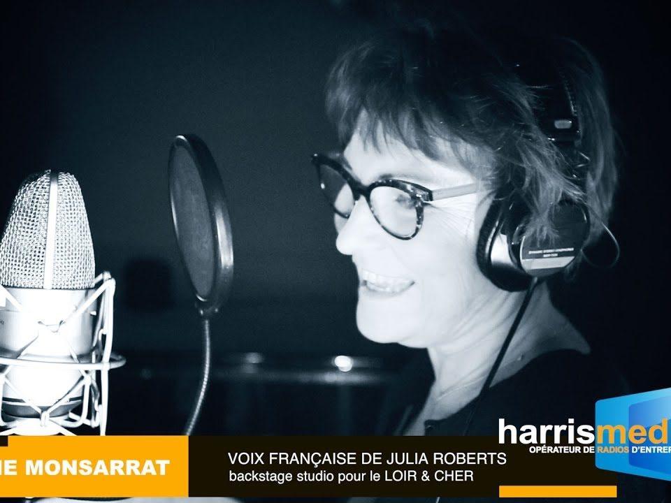 """Céline Monsarrat """"voix de JULIA ROBERTS"""""""